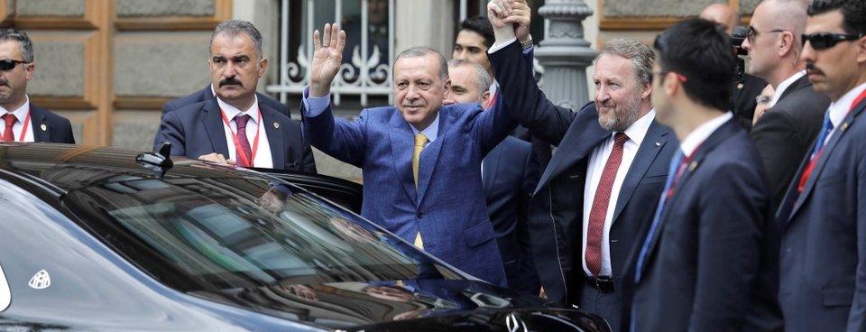 Cumhurbaşkanı Erdoğan, Bosna Hersekte böyle karşılandı