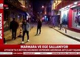 Marmara ve Ege'de 5 büyüklüğünde deprem! İstanbul Valiliği ve Ayvacık Belediye Başkanı'ndan açıklama
