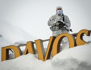 Dünyanın gözü Davos'ta! İlk kareler geldi