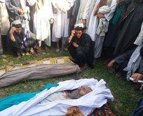 Afganistan'da pazar yerine bombalı saldırı!