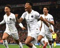 PSG Old Trafford'u salladı!
