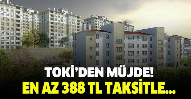 TOKİ'den dar gelirli vatandaşlara konut müjdesi!