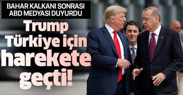 Bahar Kalkanı sonrası Trump Türkiye için harekete geçti!