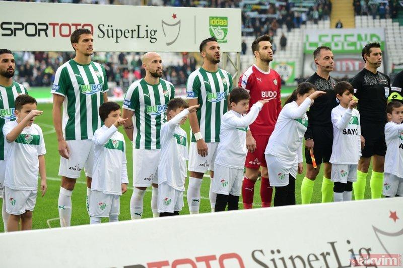 Bursaspor-BB Erzurumspor maçı öncesi ilginç anlar