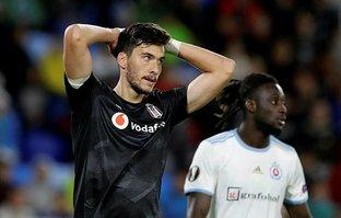 Beşiktaş'a Slovakya'da soğuk duş!