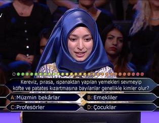 Kim Milyoner Olmak İster? 765. Bölüm tüm soru ve cevapları