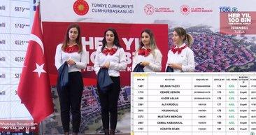 3+1 TOKİ Tuzla kura sonuçları isim listesi! TOKİ İstanbul Tuzla kura çekiliş sonuçları kazananlar listesi için tıklayınız!