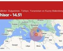 İzmir'deki depremi İstanbul'da hissedenler dikkat!
