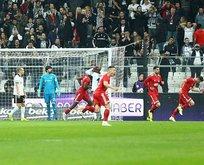 Beşiktaş alev alev