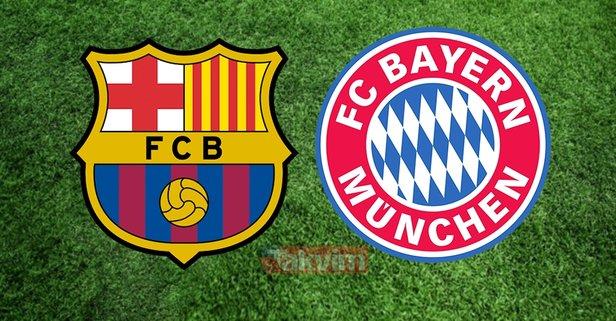 Barcelona Bayern Münih maçı saat kaçta ve hangi kanalda?