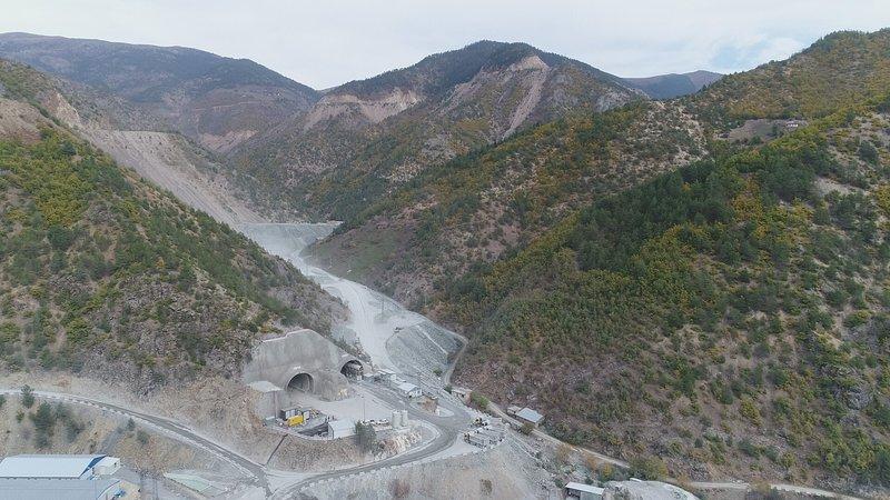 Yeni Zigana Tüneli dünyanın 2. en uzun tüneli olacak