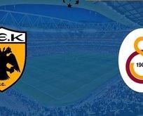 Galatasaray AEK karşısına çıkıyor