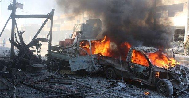 Tel Abyad'da bombalı araçla terör saldırısı!