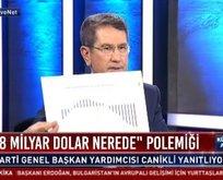 Nurettin Canikli'den CHP'ye grafikli cevap