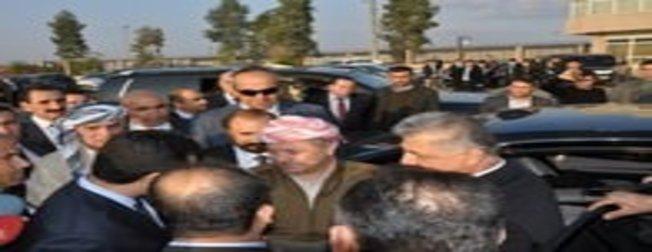 Barzani ve Şivan Perver Türkiye'de