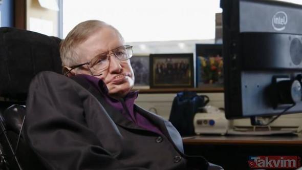 Ünlü fizikçi Stephen Hawking'ten hafızalara kazınan 'kıyamet' uyarıları