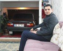 Samsun'da akılamaz tutku! Arabası ile birlikte yaşıyor