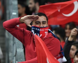 Fransa'dan Mehmetçik'e selam!