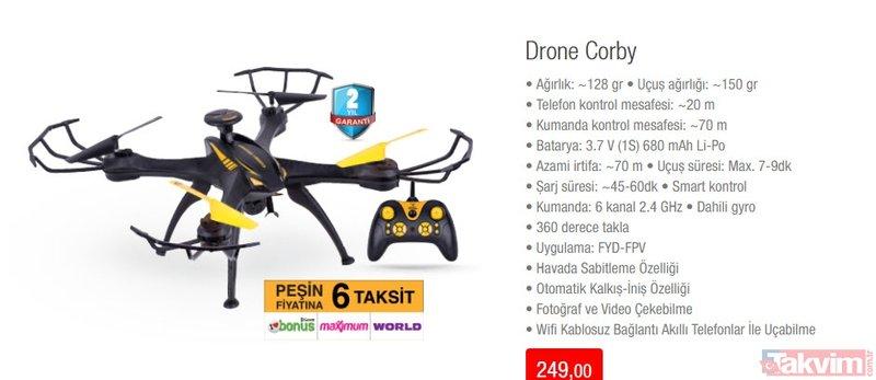 BİM 19 Nisan aktüel ürünler kataloğu ile Cuma indirimleri belli oldu! PS4 ve Drone dikkat çekiyor