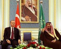 Kral Selman Cumhurbaşkanı Erdoğanı aradı