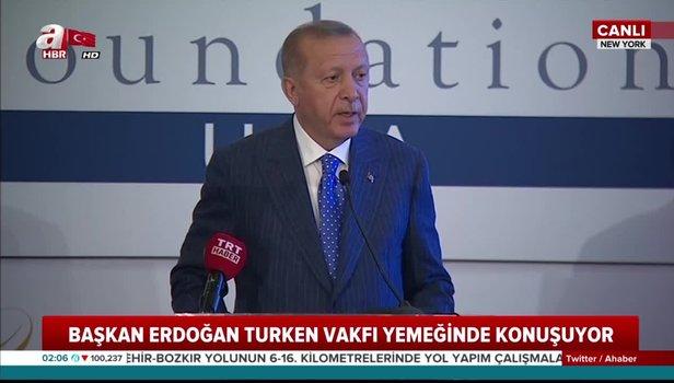 Başkan Erdoğan'dan ABD'de FETÖ mesajı: Örgüt elebaşının iadesi için gerekli adımları attık (Video)
