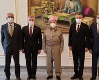 Barzani ailesinin ayağına giden CHP yönetimi...