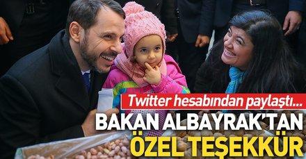 Bakan Albayrak'tan İzmir paylaşımı