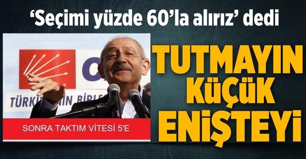Kılıçdaroğlu: Seçimi yüzde 60 ile kazanacağız