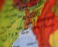 Bangladeş'te korkunç olay! Kaza sonrası birden patladı...