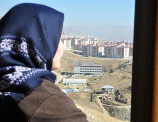 Terör mağduru aileler TOKİ tarafından yapılan konutlarına kavuştu