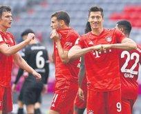 Zanka kaleyi şaşırdı Bayern farka koştu