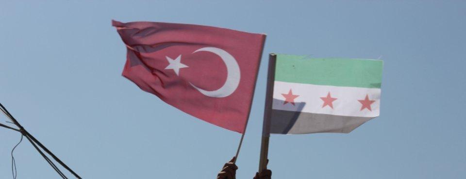 İdlib'de Başkan Erdoğan'a sevgi gösterisi
