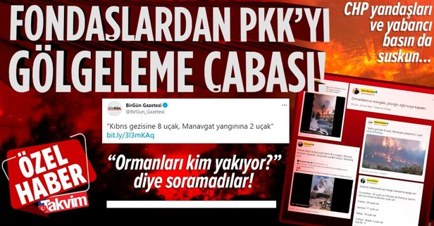 CHP yandaşı fondaş medya PKK'yı gölgeliyor!