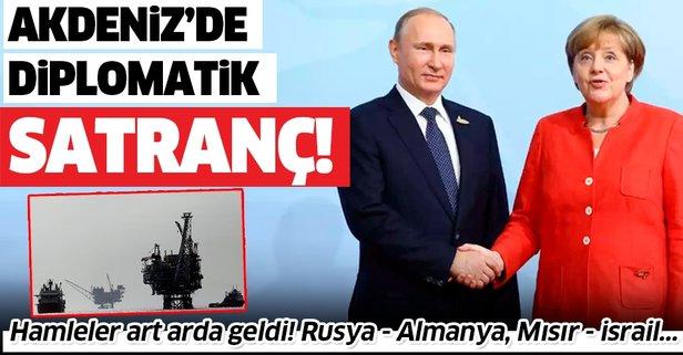 Akdeniz'de diplomatik satranç!