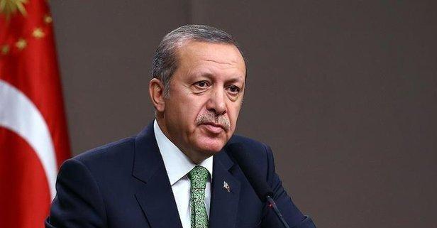 Erdoğandan taziye telgrafı