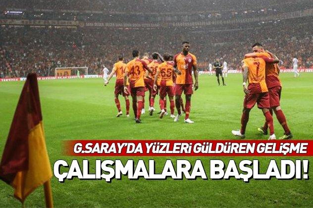 Galatasaray'a sakatlardan müjdeli haber! Belhanda, Sinan Gümüş ve Emre Akbaba...