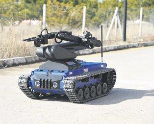 İnsansız tank geliyor