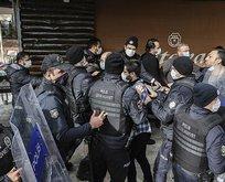 'Boğaziçi' provokatörleri polise saldırdı!