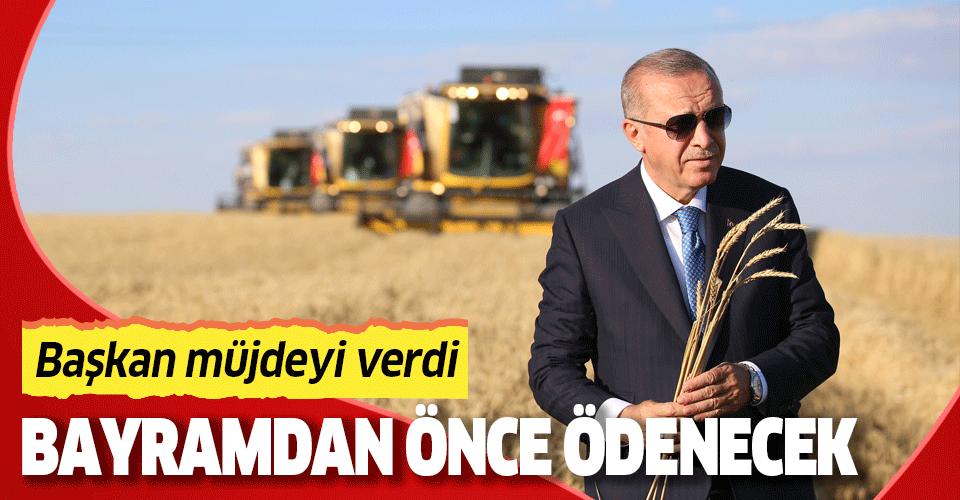 Son dakika: Başkan Erdoğan'dan TİGEM 69. Geleneksel Hasat Bayramı'nda önemli açıklamalar