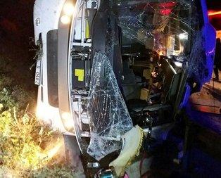 TEM otoyolunda korkunç kaza! 2 ölü 16 yaralı