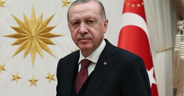 Erdoğan'dan şehit güvenlik korucusunun ailesine başsağlığı