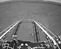 Zhurong Mars'tan ilk fotoğrafları gönderdi