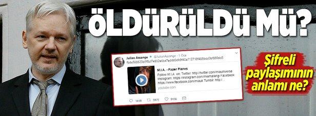 Julian Assange öldürüldü mü?