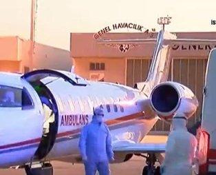 Son dakika: Sudan'da Kovid-19 teşhisi konulan hasta ambulans uçakla İstanbul'a getirildi