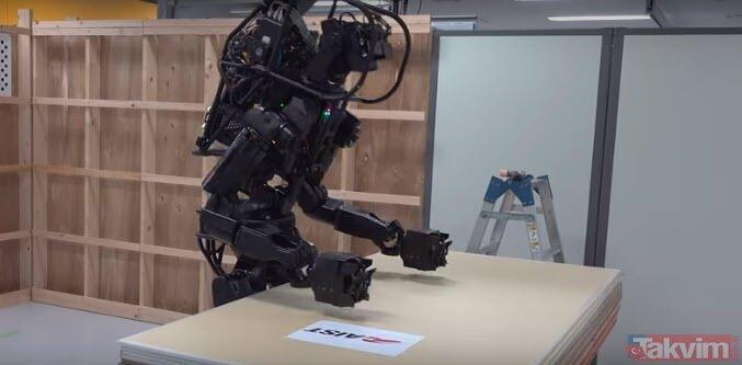 Japonların geliştirdiği robot hayretler içerisinde bıraktı! Ne yaptığına inanamayacaksınız