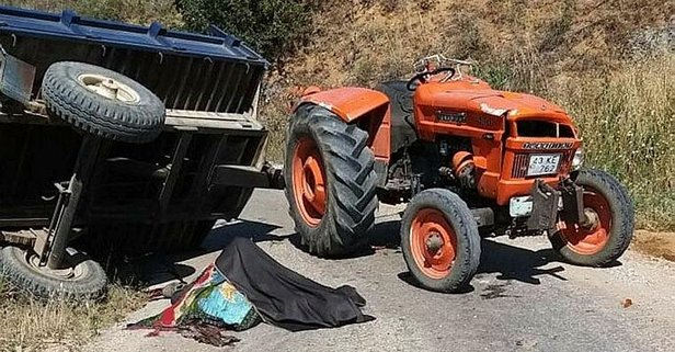 Kütahya'da korkunç kaza! Acı haber geldi