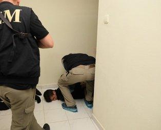 Eylem hazırlığındaki teröristlere operasyon