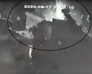 İzmir'de patlayan tüp mahalleyi savaş alanına çevirdi!