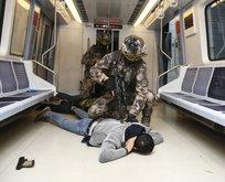 Ankara metrosunda nefes kesen anlar!