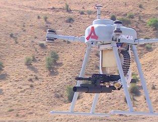 Bir ilk! Teröristlerin kabusu olacak!  İşte silahlı drone sistemi Songar!